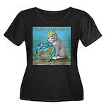 Fish Women's Plus Size Scoop Neck Dark T-Shirt