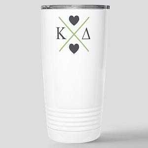 Kappa Delta Letters Cro Stainless Steel Travel Mug