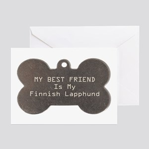 Lapphund Friend Greeting Cards (Pk of 10)