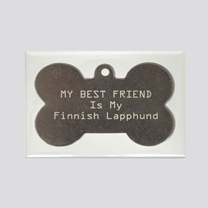 Lapphund Friend Rectangle Magnet