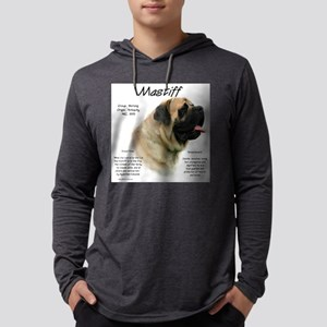Mastiff (fawn) Mens Hooded Shirt