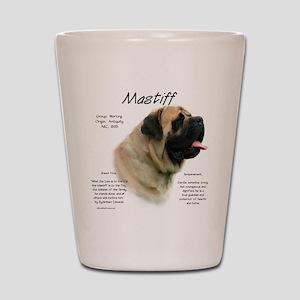 Mastiff (fawn) Shot Glass