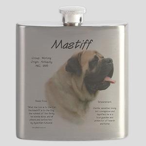 Mastiff (fawn) Flask