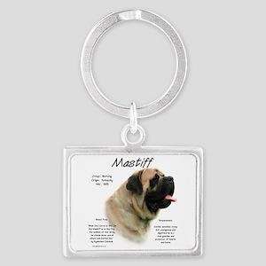 Mastiff (fawn) Landscape Keychain