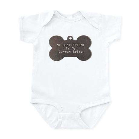 Spitz Friend Infant Bodysuit