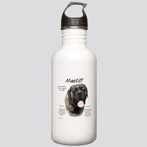 Mastiff (fawn brindle) Stainless Water Bottle 1.0L