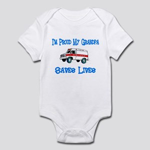 Ambulance Save Lives-Grandpa Infant Bodysuit