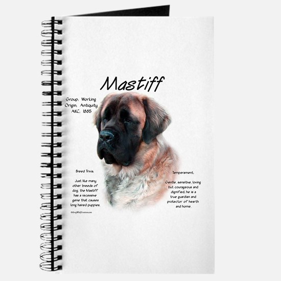 Mastiff (apricot fluff) Journal