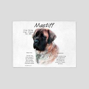 Mastiff (apricot fluff) 5'x7'Area Rug