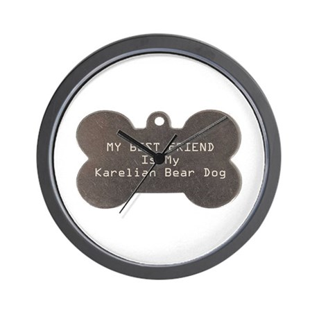 Karelian Friend Wall Clock