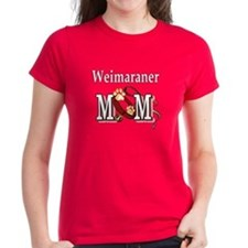 Weimaraner Mom Women's Dark T-Shirt