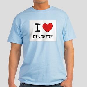 I love ringette Light T-Shirt