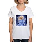 Angel of the Air Women's V-Neck T-Shirt