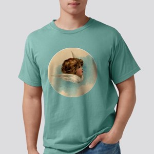 Vintage Angel Head and Wings T-Shirt