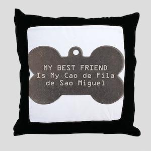 Cao Friend Throw Pillow