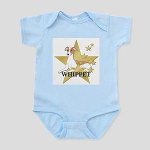 Whippet Stars Infant Bodysuit