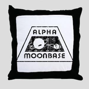 ALPHA MOONBASE Throw Pillow