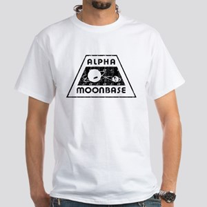 ALPHA MOONBASE White T-Shirt