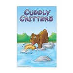 Buster's 'gone fishing' Mini Poster Print