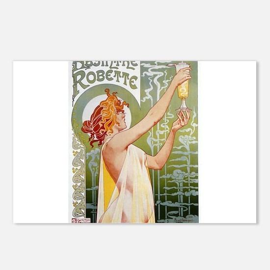 Absinthe_Robette_advertisement 1896 Postcards (Pac