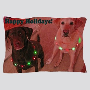 Christmas Lights Pillow Case