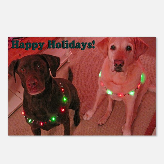 Christmas Lights Postcards (Package of 8)