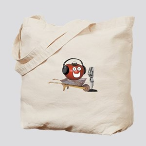 Singing Tomato Tote Bag