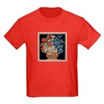 Edelweiss Bouquet Kids Dark T-Shirt