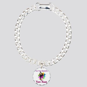 Customizable Gymnastics Team Bracelet
