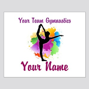 Customizable Gymnastics Team Posters