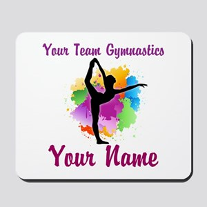 Customizable Gymnastics Team Mousepad