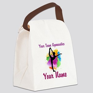 Customizable Gymnastics Team Canvas Lunch Bag
