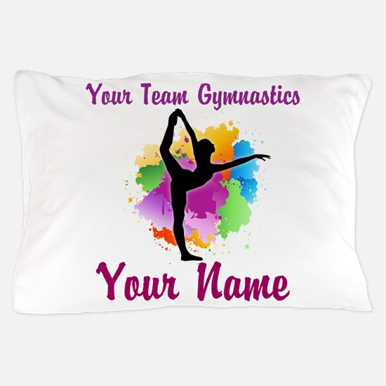 Customizable Gymnastics Team Pillow Case