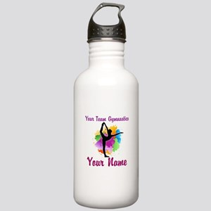Customizable Gymnastics Team Water Bottle