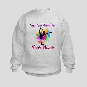 Customizable Gymnastics Team Sweatshirt