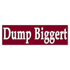 Dump Judy Biggert (bumper sticker)