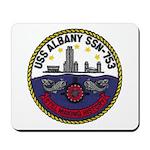 USS ALBANY Mousepad