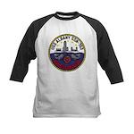 USS ALBANY Kids Baseball Jersey