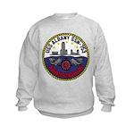 USS ALBANY Kids Sweatshirt