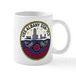 USS ALBANY Mug