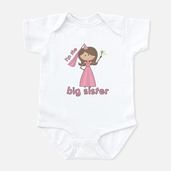 i'm the big sister princess Infant Bodysuit