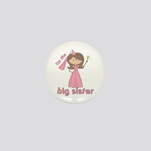 i'm the big sister princess Mini Button