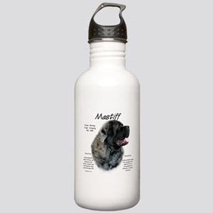 Mastiff (brindle fluff Stainless Water Bottle 1.0L