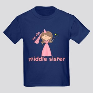 i'm the middle sister Kids Dark T-Shirt