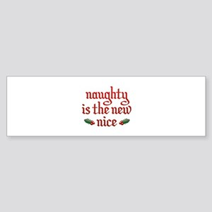 Naughty Is The New Nice Sticker (Bumper)