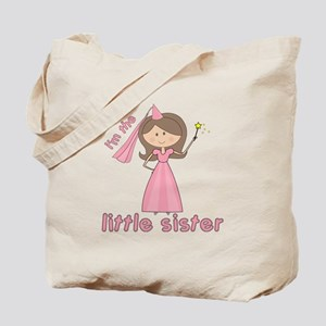 i'm the little sister princess Tote Bag