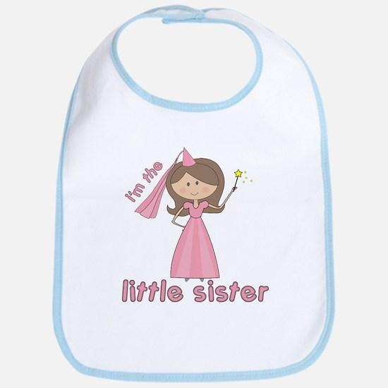 i'm the little sister princess Bib