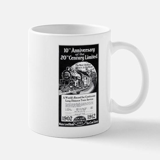 20th_Century_Limited_1912_Advertisement Mugs