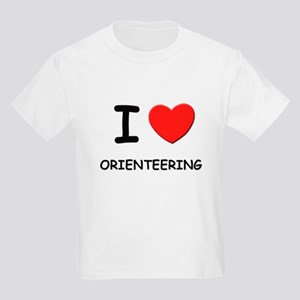 I love orienteering Kids Light T-Shirt
