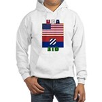 NEW! 3ID USA - Hooded Sweatshirt